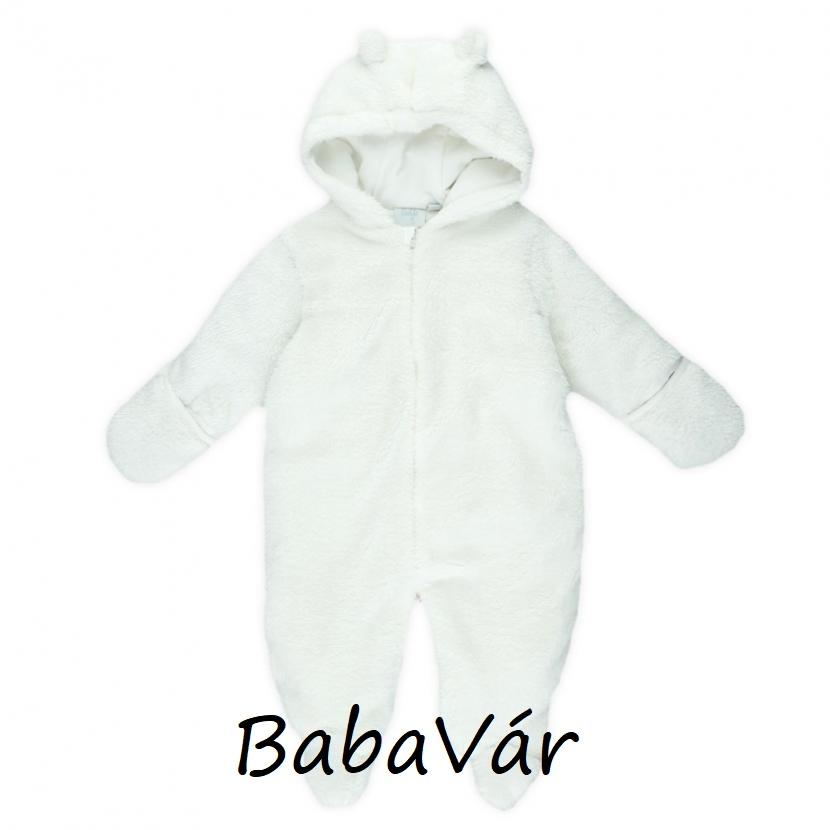 110b753a11 Feetje fehér plüss macifüles baba overall | BabaMamaOutlet.hu