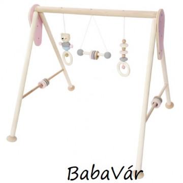 Hess-Spielzeug natur Fa Babatornáztató Rosa