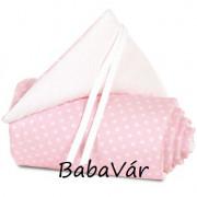 BabyBay original/midi bölcsőhöz rózsaszín/csillagos fejvédő