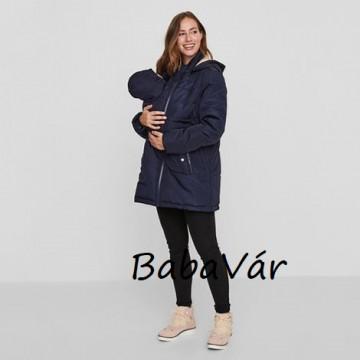 Mama Licious Tabita 3 az 1-ben kismama téli kabát babahordozáshoz is