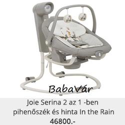 Joie Serina 2 az 1 -ben pihenőszék és hinta In the Rain