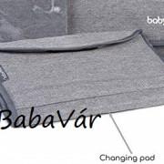 Babymoov  Urban hordozható pelenkázó lap szürke melange