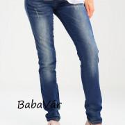 Paulina Straight leg jeans kismama pamutfarmer nadrág