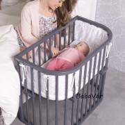 BabyBay Comfort  bölcső Grey