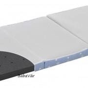 Alvi Hordozható utazóágy luftikus matrac 60×120 kék mintás