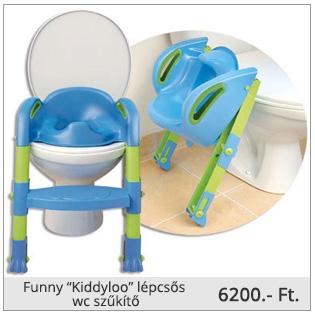 """Funny """"Kiddyloo"""" lépcsős wc szűkítő"""