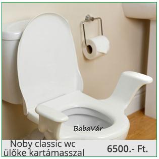 Noby classic wc ülőke kartámasszal