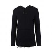 Bellybutton fekete szoptatós/ kismama pulóver