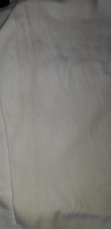 Star Collection Fehér pocaktartó gumipántos Kismama Farmer h.