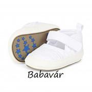 Sterntaler baba balerina cipő fehér/ezüst