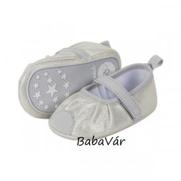 Sterntaler glanz baba balerina cipő ezüst