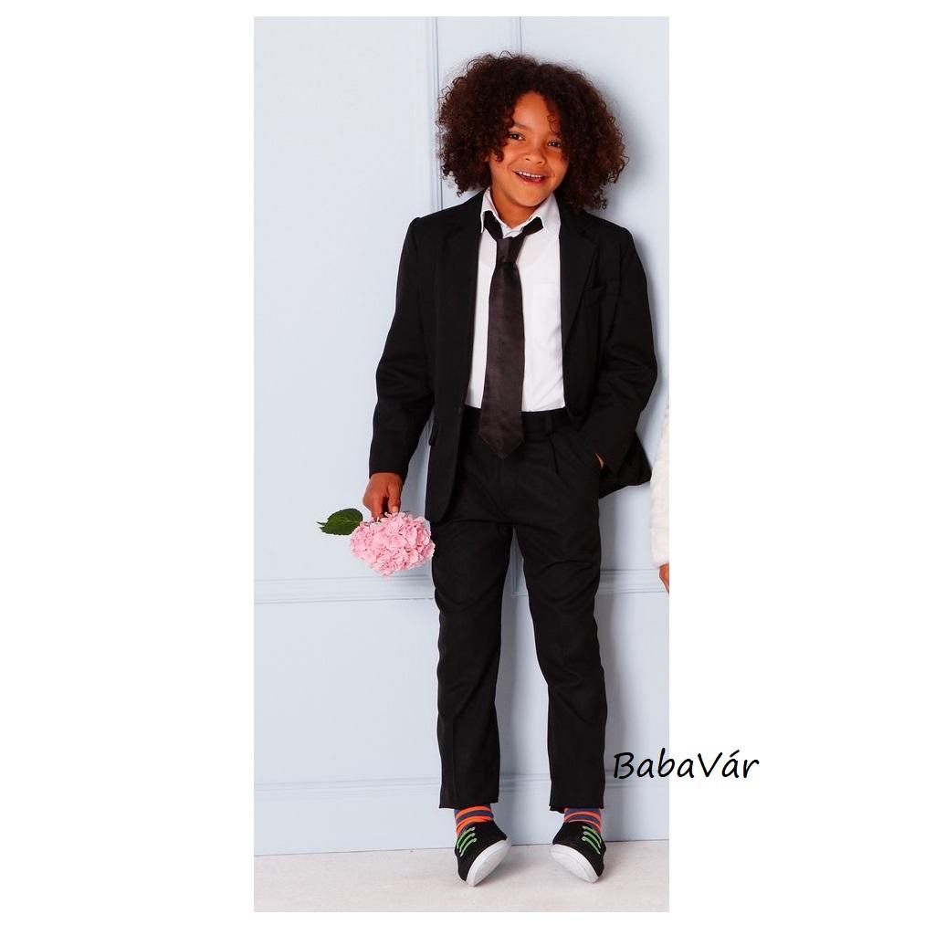 08e8e2d3b2 Boys by cadeau fekete két részes kisfiú öltöny   BabaMamaOutlet.hu