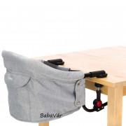 Fillikid asztalra rakható etetőszék szürke