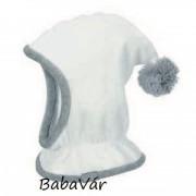 Sterntaler termo bojtos fehér sálsapka