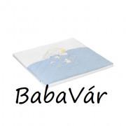 Alvi kék elefántos szivacsos járókabetét matrac 69x97
