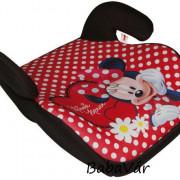 Automax Minnie Mouse karfás ülésmagasító autóba 15- 36 kg