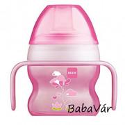 MAM Srarter Cup csőrös itatópohár Girl  pink 4+