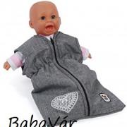 Bayer chic Játék babához hálózsák melange Grey hearts