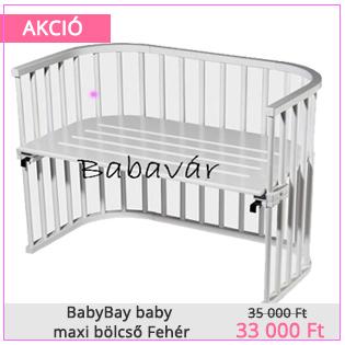 BabyBay baby maxi bölcső Fehér