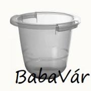 Tummy Tub fürdetődézsa/ pocakfürdő szürke