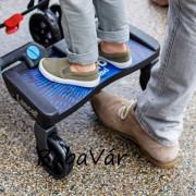 Lascal Buggy board maxi+ testvérfellépő ülőke nélkül kék