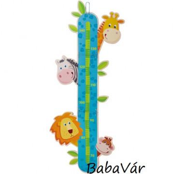 Haba Zoo  Magasságmérő tábla gyerekeknek