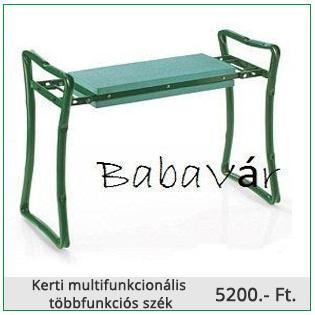 Kerti multifunkcionális többfunkciós szék