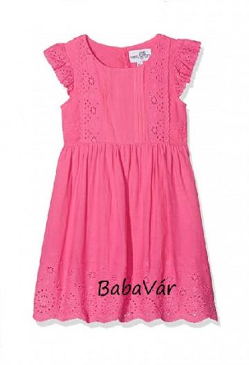 Happy Girls rózsaszín madeira mintás kislány ruha
