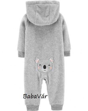 Carters Koala kapucnis thermo rugdalózó / sweet overál