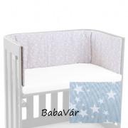 BabyBay Trend bölcsőhöz azúr csillagos  fejvédő