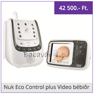 Nuk Eco Control plus Video bébiőr