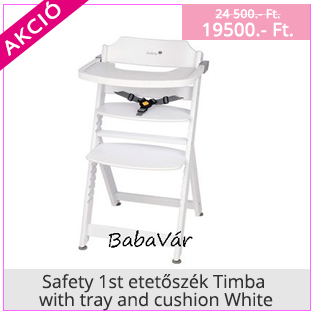 Safety 1st etetőszék Timba with tray and cushion White