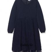 Happy Girls kék kötött / tüll alsószoknyás  kislány alkalmi ruha