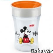 Nuk Magic Cup első tanuló ivópohár narancs Mickey egér
