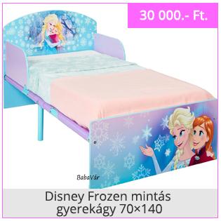 Disney Frozen mintás gyerekágy
