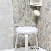Weinberger Állítható magasságú Komfort forgóülőkés Zuhany szék