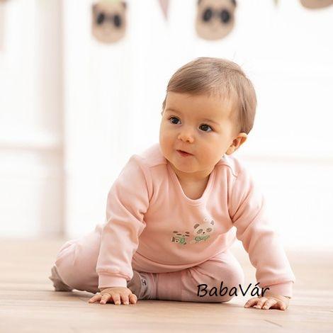 Bornino Panda Time pandás kifordítható baba pulcsi