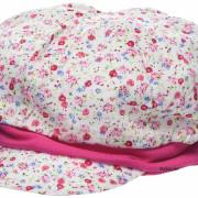 Maximo rózsaszín apró virágos kislány babasapi