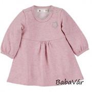 Sterntaler rózsaszín csillagos hosszú ujjú kislány ruha