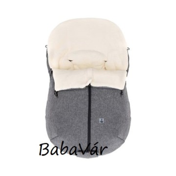 Babycab Naryn   téli bundazsák grau melange