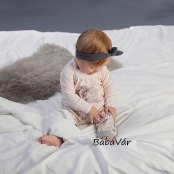 Fixoni szürke állatos pamut baba nadrág