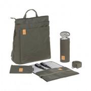 Lassig Green Label Tyve Backpack Kheki  pelenkázó hátizsák