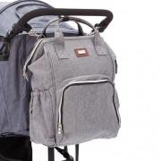 Fillikid grey  pelenkázó hátizsák