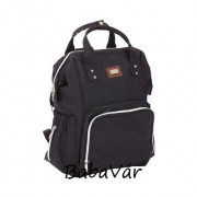 Fillikid black  pelenkázó hátizsák
