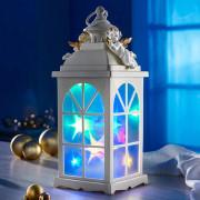 Ledes Világitó angyal karácsonyi lámpás