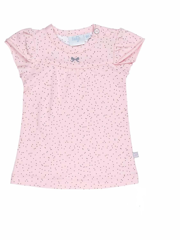 Feetje rózsaszín pöttyös pamut kislány ruha