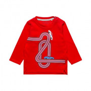 Esprit piros autós baba pulóver