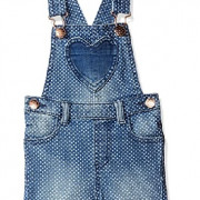 Mothercare pöttyös farmer  kantáros sort nadrág