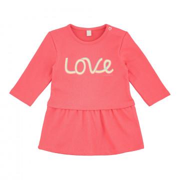Esprit Love kislány hosszú ujjó pamut kislány ruha