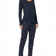 Mama Licious Chillflover Lia kék szoptatós/kismama pizsama felső